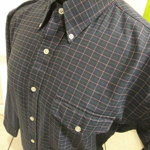 Vintage LL Bean Long Sleeve Button Down Shirt